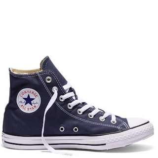 SELLING NAVY BLUE CONVERSES