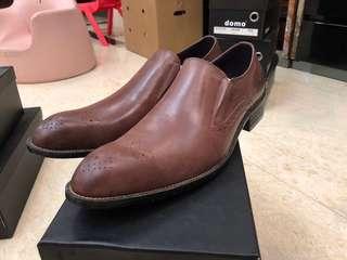 全新男裝皮鞋  真牛皮面層 清倉特價