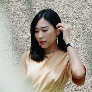 Marble Earings