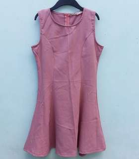 Old rose dress for women