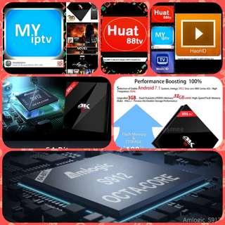 H96 Pro Plus Android 7.1 S912 TV Media Box