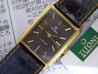 Vintage Titoni manual wind watch