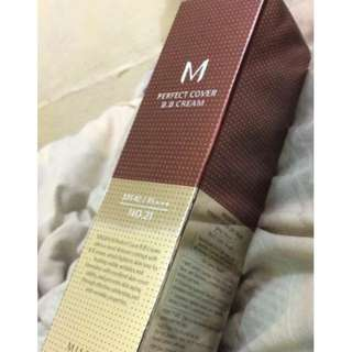 MISSHA Perfect Cover BB Cream (#21 Light Beige) 50 ml