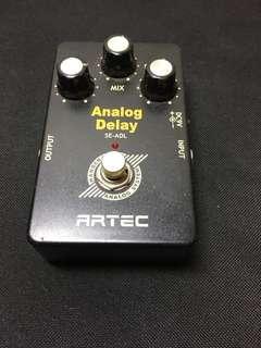 Analog delay ARTEC effect guitar