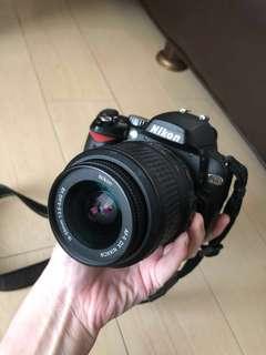 Dijual Cepat NIKON D60 Free Tripod + Free Tas Kamera