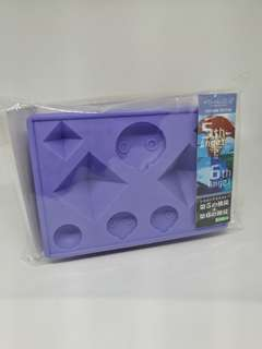 Evangelion 5th & 6th Angel Silicone Ice Tray