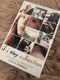 If I stay book collection