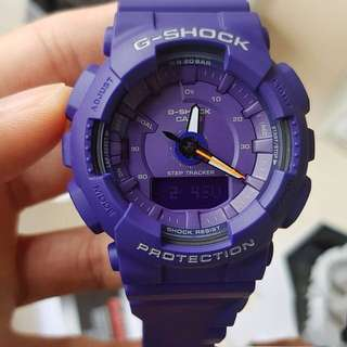 Authentic Brand New Casio G-Shock S-Series STEP TRACKER GMA-S130VC-2A Purple Unisex Watch GMAS130VC GMAS130 GMAS130VC-2A GMA-S130VC-2