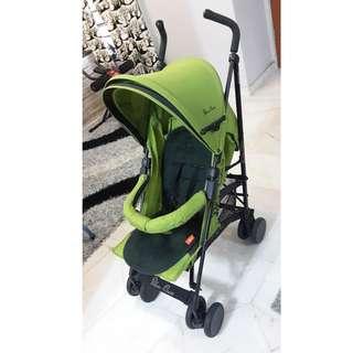 Lime Green Silver Cross Micro Umbrella Stroller