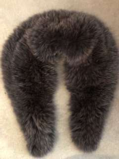 Vintage brown mink fur stole