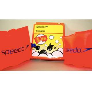 Speedo 兒童吹氣手袖 游泳 Swimming Armbands Floaties Size 2-6 Years