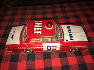 tintoys fire department car