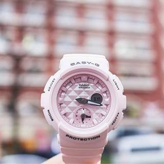 Authentic BABY-G Pastel Pink