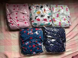 Boldeet cloth diapers toddler size