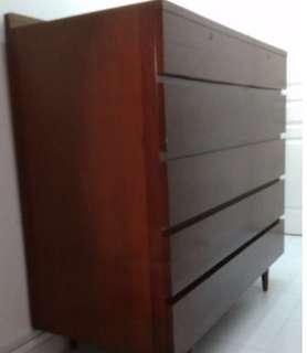 large teak cabinet