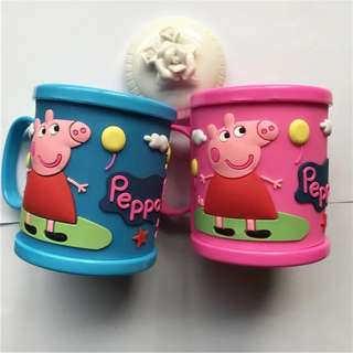 Gargle cup/Brushing cup  💡💡many colors🐷peppa pig