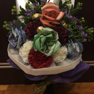 Money Flower Bouquet (price not include money)❤️