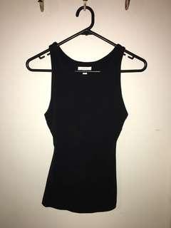 Black Kookai Basic Top size 1