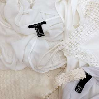 White Tops Dress Bundle