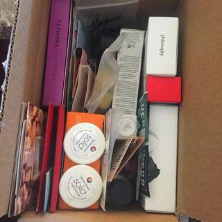 Box Full Of High End Products