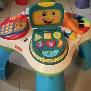 Meja Activity Fisher Price Elc