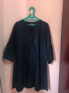 Tunik navy all size up to xl