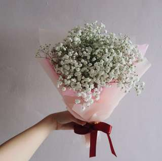 Sweet Baby Breath Bouquet