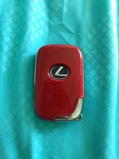 Lexus Key Fob Casing Red CT200H