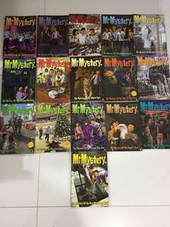 Mr Mystery Books