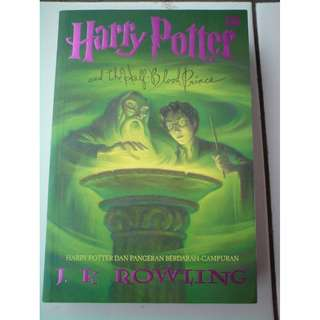 Novel Harry Potter dan Pangeran Berdarah Campuran