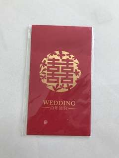Wedding big red packet angbao