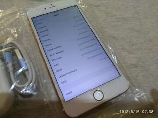 iPhone 6 64gig fu black