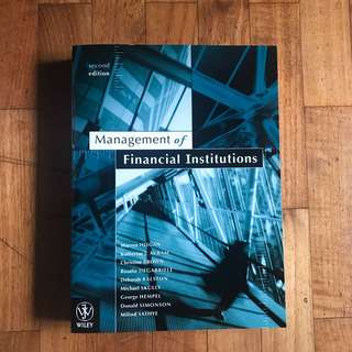 Banking and Finance Textbooks