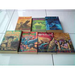 Novel Harry Potter Soft Cover 1 Set