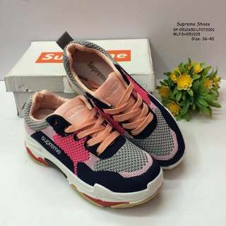 SUPREME SHOES Size: 36,37,38,39,40 Always Provide Euro Size  Price : 950