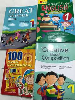 Primary 1 English Grammar and Composition