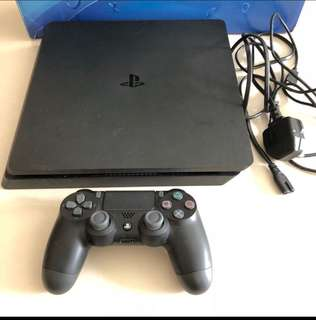 Playstation 4 slim console (black, 500gb)