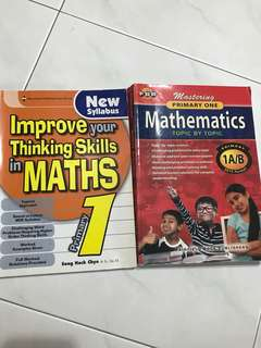Maths Assessment Books Primary 1