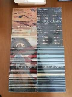 Paul Auster x 4 Novels
