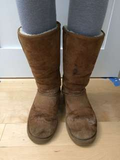 Uggs Tall Chestnut Ugg Boots