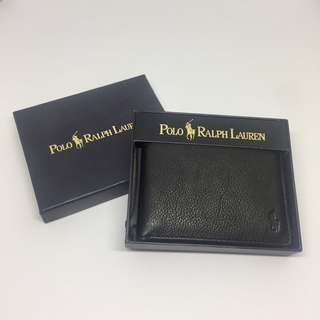 BNew Orig Polo Ralph Lauren Leather Wallet