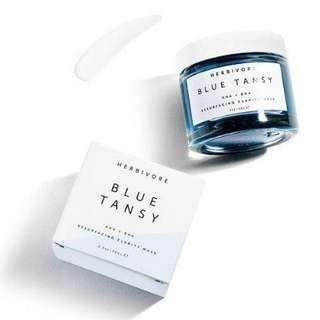 Blue Tansy - AHA + BHA Resurfacing Clarity Mask