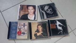 music albums @ 350 each