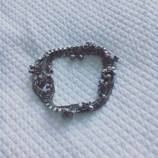 Silver Chain Anklet or Necklace