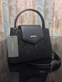 PEDRO Velvet Top Handle Shoulder Bag