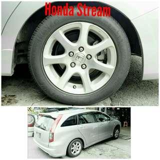 Tyre 205/55 R16 Membat on Honda Stream 🐕 Super Offer 🙋♂️
