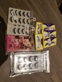 False Eyelashes lot