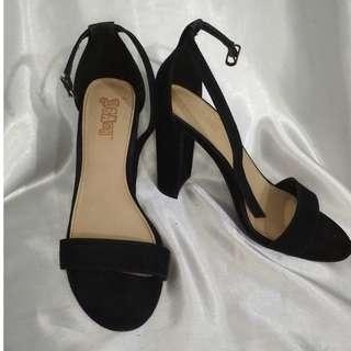 Black Chunky Heels Payless Brash high heels
