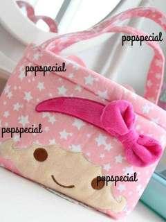 Little Twin Stars Aluminum Hand Bag