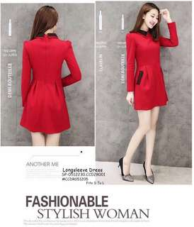 LONGSLEEVE DRESS Fits S To L  Price : 390